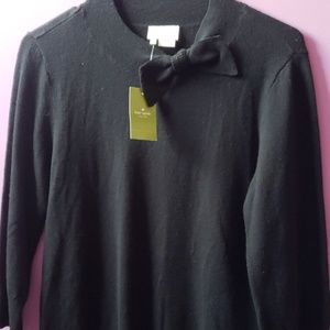 ❤NEW!❤ Kate Spade black sweater, bow